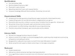 Resume Bullet Points Examples Babysitter No Experience Templates For Babysitting Template Caregiver Sample