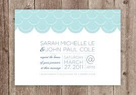 Beautiful Simple Wedding Invitations Plumegiant