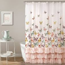 Boscovs Blackout Curtains by Lush Décor Flutter Butterfly Shower Curtain Boscov U0027s