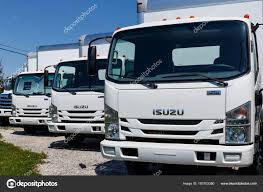 Muncie - Circa April 2018: Isuzu Motors Truck Dealership. Isuzu Is A ...