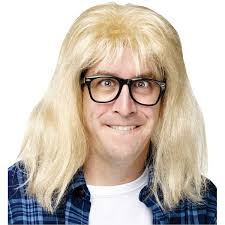 Garth And Kat Halloween by Amazon Com Snl Garth Algar Wig And Glasses Accessory Kit Clothing