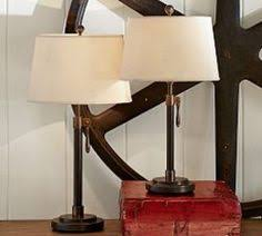Pottery Barn Floor Lamp Shades by Cfl Chelsea Table Lamp Base Antique Brass Finish Lamp Bases