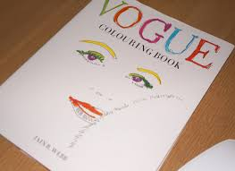 Vogue Colouring Book Preview FlipThrough