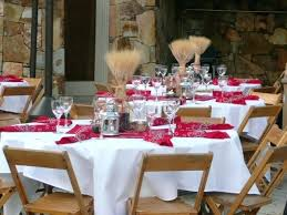 Rustic Centerpieces For Rehearsal Dinner Tables Fall Wedding Flowers On