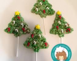 Rice Krispie Christmas Tree Ornaments by Rice Crispy Etsy