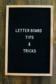 Tips Tricks For Using A Felt Letter Board In Your Home Great