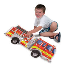 100 Melissa And Doug Fire Truck Puzzle MELISSA AND DOUG FIRE TRUCK 24 PC FLOOR PUZZLE THE TOY STORE