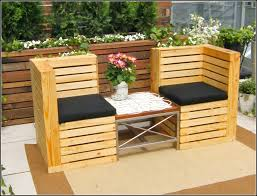 Wooden Pallet Patio Furniture Plans by Diy Pallet Patio Furniture Plans Crustpizza Decor Creative