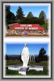 Cemeteries Ashelawn Gardens Memory Asheville Bun be North