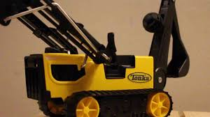 Tonka Steel Trencher Vehicle Review! - YouTube