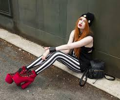 Blogger Fashion And Girl Image