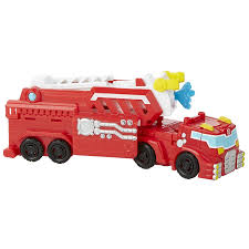 Playskool Heroes Transformers Rescue Bots Heat Wave Fire Bot Capture ...