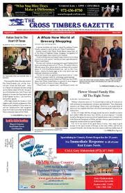The Cross Timbers Gazette August 2014 By The Cross Timbers Gazette