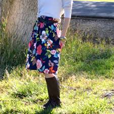 A Wide Waistband Pleated Skirt Tutorial Simple Simon And Company