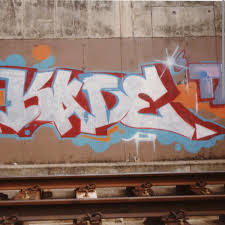 Graffiti Font Alphabet Vector Illustration Block Letters Graffiti Font