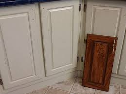 Thermofoil Cabinet Doors Peeling by Painting Particle Board Cabinets In Mobile Home Hometalk