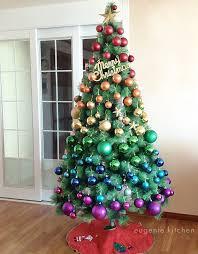 Rainbow Christmas Tree At Eugenie Kitchen