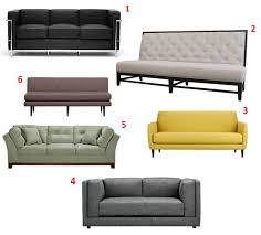 Cb2 Sofa Bed Sleeper by Apartment 528 Product Roundup 28 Couches Under 1000