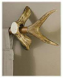 Deer Antler Curtain Holders by 10 Deer Antler Curtain Rod Holders A Listing Of Some Of The