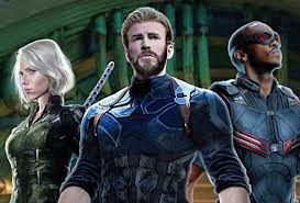 The First Infinity War Poster Gave Us A Glimpse Of Chris Evans Cap Rocking Full Nomadic Beard And Dark Blue Suit Now New Promotional Art Gives