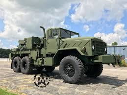 100 Truck Wench 2013 M936A2 Military 6x6 Wrecker Truck 45000lbs Winch Midwest