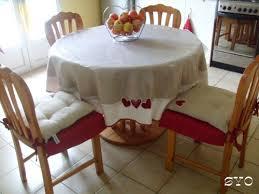 réalisation facile et rapide de housses pour dessus de chaises