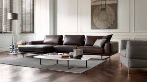Living Room Ideas Brown Leather Sofa by Furniture Brown Leather Natuzzi Leather Sofa With Rectangular