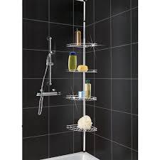 Teak Bathroom Corner Shelves by Bathroom Bathtub Corner Shelf Bathroom Caddy Mesh Shower
