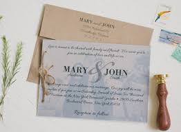 Rustic Wedding Invitation Sets Fresh Kraft Paper Set With Vellum Overlay