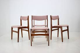 Excellent Vintage Set Dining Chairs Teak And Pink Fabric ... Amazoncom Povl Outdoor Menlo Large Rectangular Teak Ding Room Gorgeous Decoration Using Round Chair Stock Photo Image Of Chairs Hardwood Exciting Chairs Set For Wood Patio Table Danish Modern In White Gray And Pink Fabric Cross Back Natural Finished Washed Fniture Handmade From Indonesia Crafter Buy Vintage Upholstered Structube Lee 2019 Dectable Setting And Wicker Dominent High Salgado Beautiful Used 6 Amazonia Hawaii