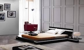 Platform King Bed in Wenge