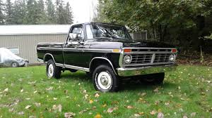 100 1974 Ford Truck Is This Raven Black F100 The Holy Grail Scom