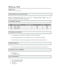 Resume Templates For Freshers Format Life Science Bsc Nursing Weekly Template It