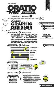 Resume Examples Graphic Design Of Creative Resumes Infographics 2012