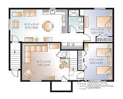 Multi family plan W3117 V2 detail from DrummondHousePlans