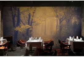 Online Shop 3D Mysterious Forest Wallpaper Room Escape Haunted House