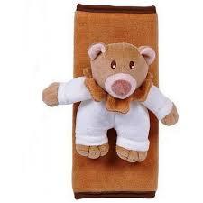 protege ceinture siege auto bébé protège ceinture bébé ou enfant ours en peluche pas cher à prix auchan