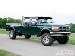 1996 Ford F350 Super Duty - 7.3L Power Stroke Diesel Engine - 8-Lug ...