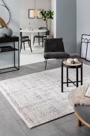 teppich linus hellgrau wohnzimmerteppich wohnzimmer ideen