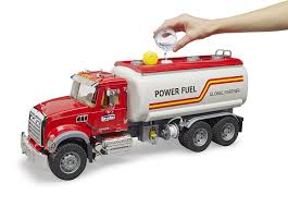 Buy Bruder - MACK Granite Tank Truck With Water Pump 02827