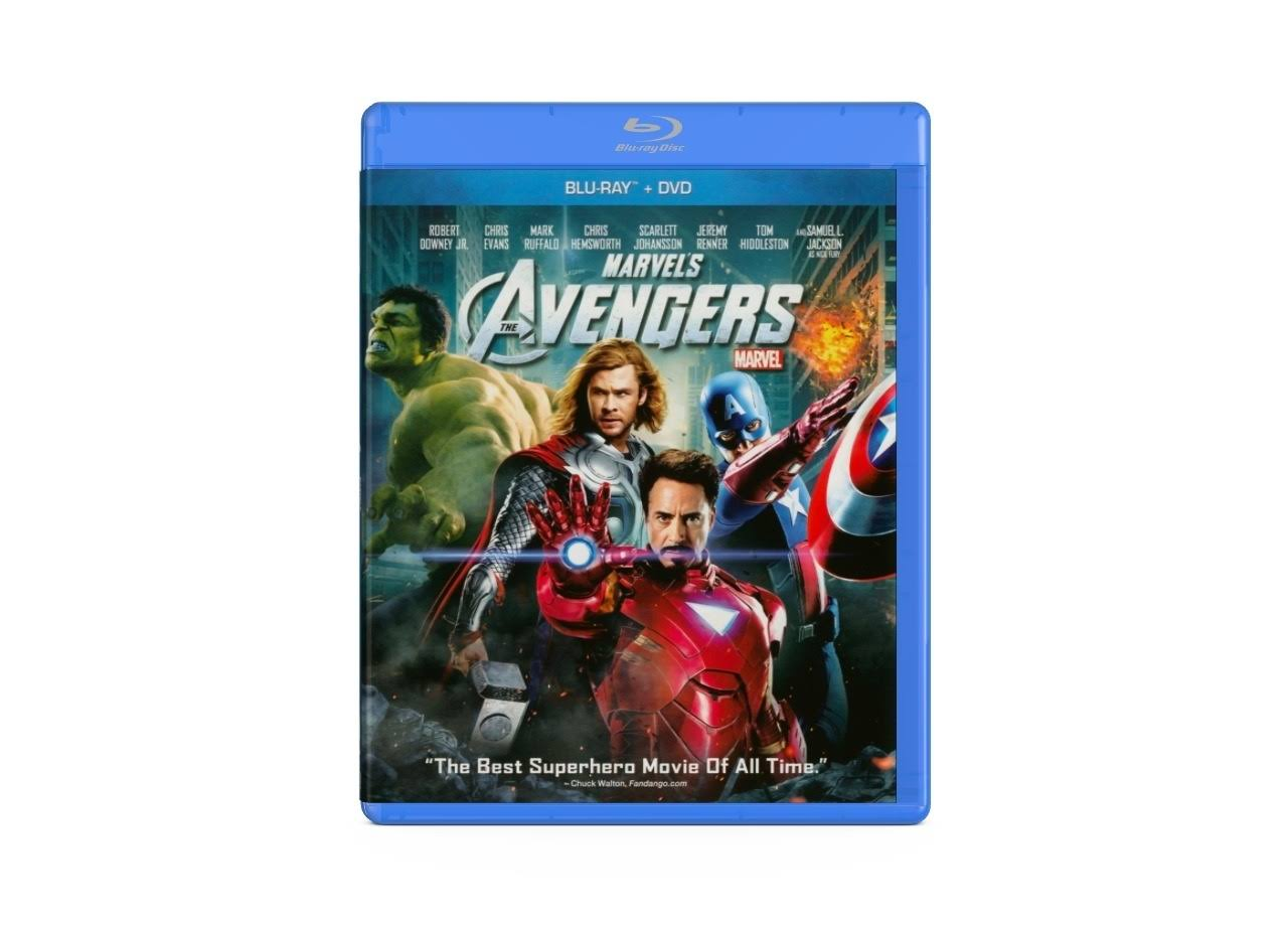 Marvel's Avengers Blu-Ray