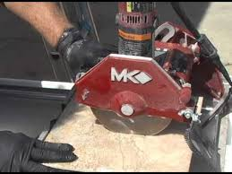 mk 377exp wet cutting tile saw youtube