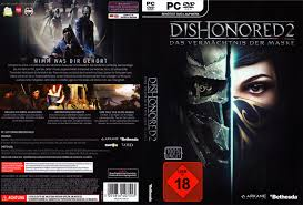 si e pc dishonored 2 dvd cover label 2016 german pc