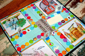 DIY Board Game For Fathers Day Defend The Castle