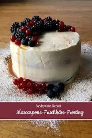 rezept für mascarpone frischkäse frosting