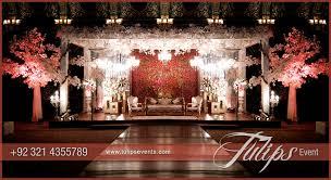 Pakistani Wedding Stage Design