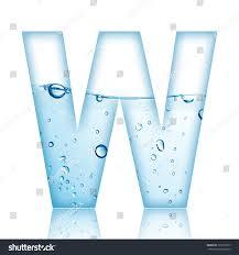 Water Water Bubble Alphabet Letter Letter Stock Photo Edit Now