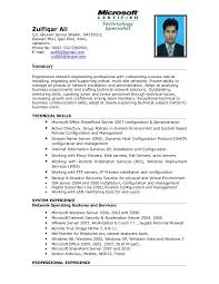 Senior System Administrator Resume Samples