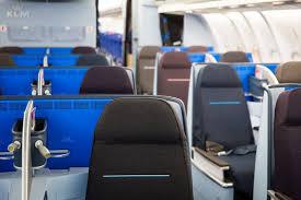 siege business air klm lance sa nouvelle cabine business sur a330 300 au design