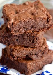 recette facile de brownies au fudge et au café mocha